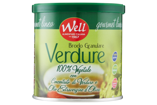 Well granulare verdure
